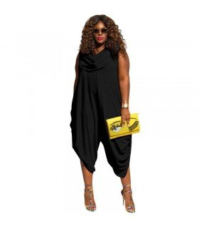 Jumpsuit In An Asymmetric