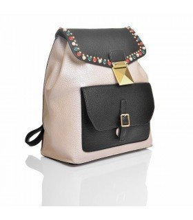 Backpack With Colored Stones