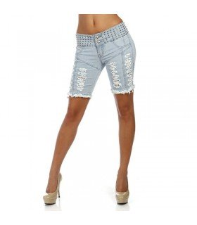 Pirate Short Push-up Colombian Jeans