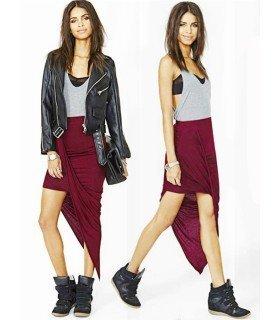 Skirt Lycra Asimetrica