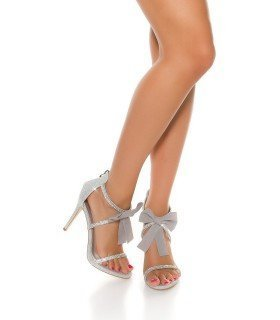 Sandals Bright Spiked with Bow