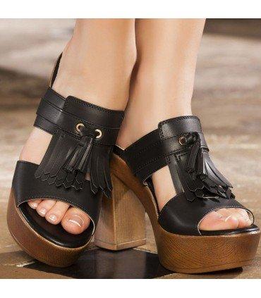 Clog Thick Heel