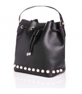 Handbag Shoulder Bag With Pearls