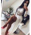 Set Lace Top and Long Skirt Of Chiffon