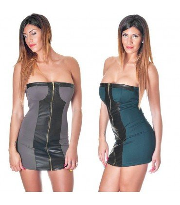 Dress Word of Honor Combined Leatherette