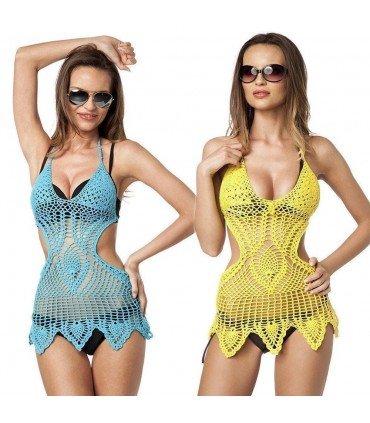 Tunica Crochet De Playa