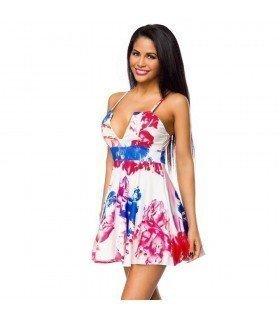 Print Dress Skirt Flight