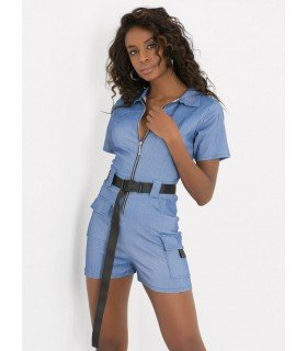 Jumpsuit Short With Belt