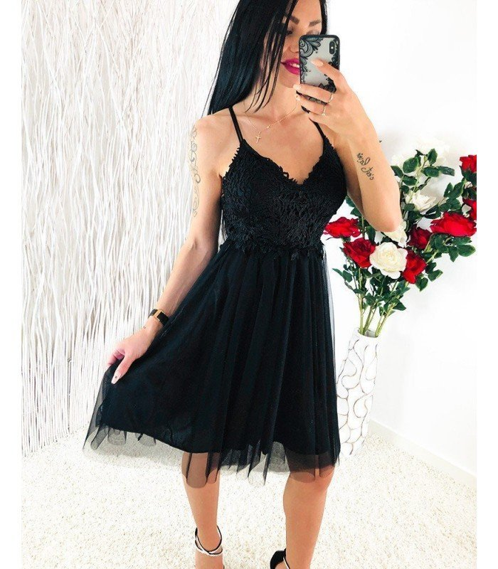 Dress Lace Skirt With Tull