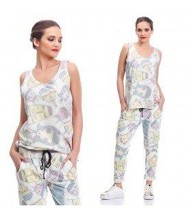 Conjunto Pantalón Y Camiseta Mil Caras