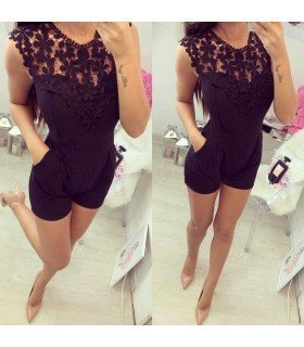 Jumpsuit Long Strapless Ruffle