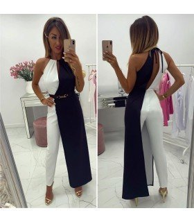Jumpsuit Long Bicolor