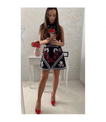 Short Dress Patterned