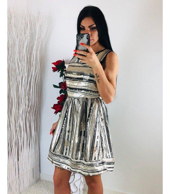 Elegant Dress Skirt Flying Wire Bright