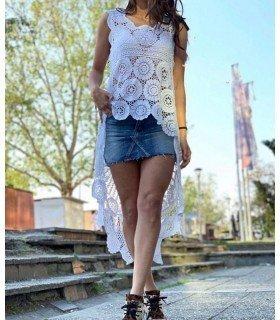 Top Largo Crochet
