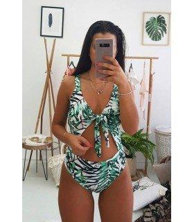 Swimsuit Tropical Print