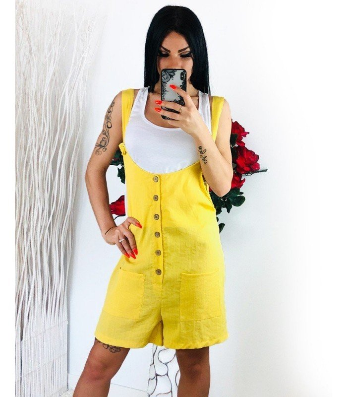 Jumpsuit Overalls Short with t-Shirt