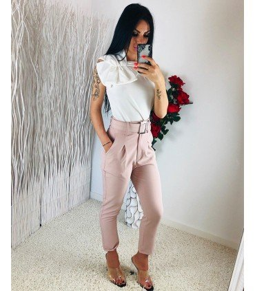 Long Pants With Belt