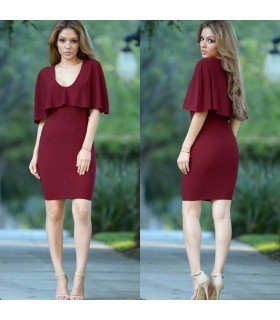 Short Dress With Layer