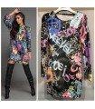 Dress Velvet Printed