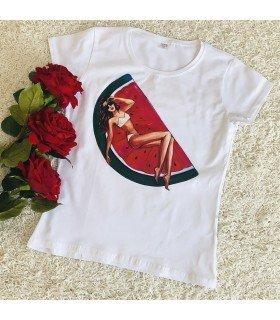 Printed T-Shirt Short Sleeve