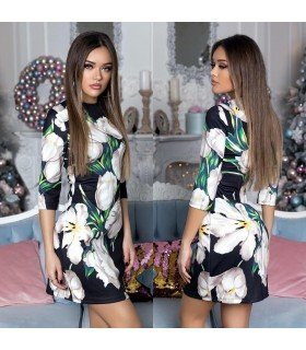 Dress Patterned Flowers
