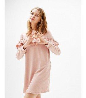 Dress Long Sleeve Ruffle