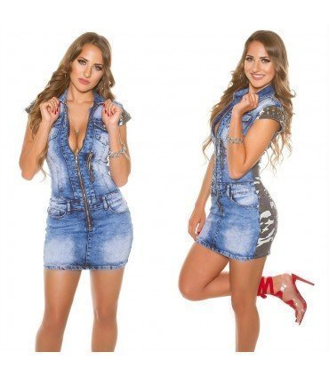 Dress Jeans Short With Back Camo