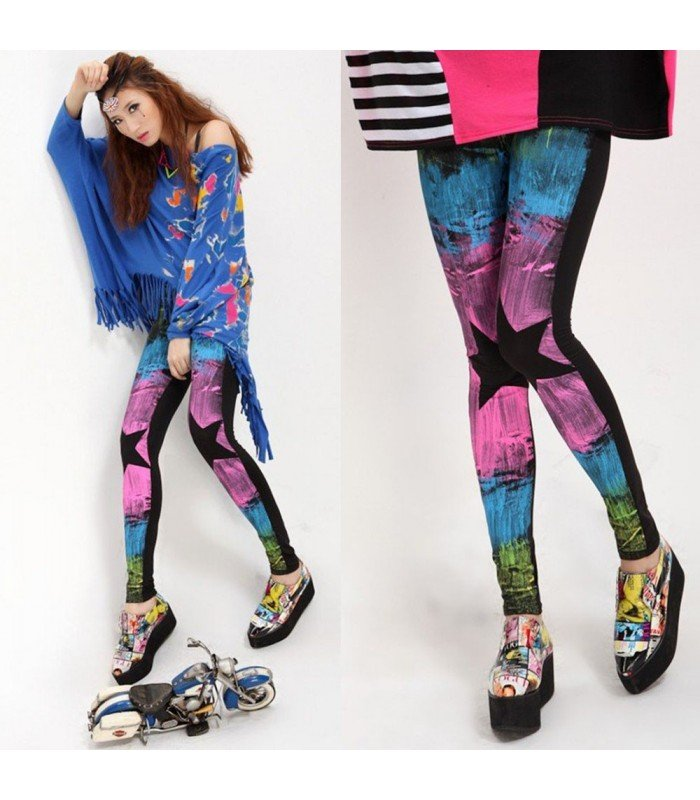 Leggings Spray Fashion