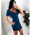 Dress Jeans With Front Zipper Closure